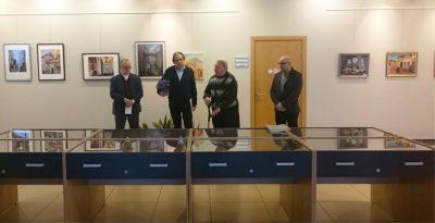 Iš kairės: V. Janulis, R. Savickas, Ch. Šeras ir S. Kerbelis