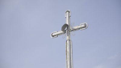 Vienas iš 4 kryžių prie Šiaulių