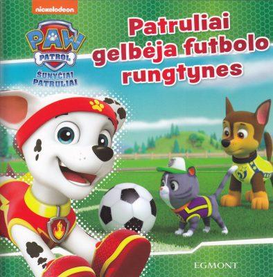 Patruliai gelbėja futbolo rungtynes : šunyčiai patruliai