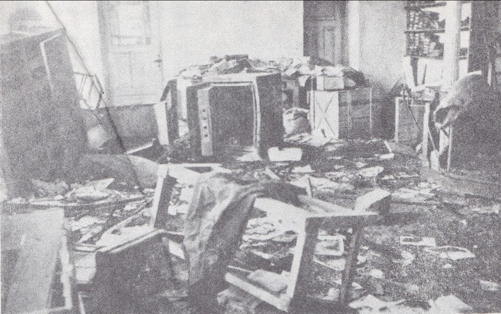 1919 m. bermontininkų išplėšta Šiaulių kooperatyvo parduotuvė