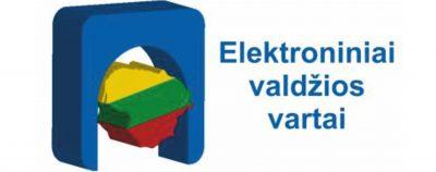 Elektroninių valdžios vartų nuoroda