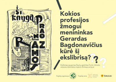 ŠAVB plakatas su klausimu