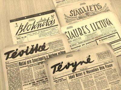 senieji leidiniai